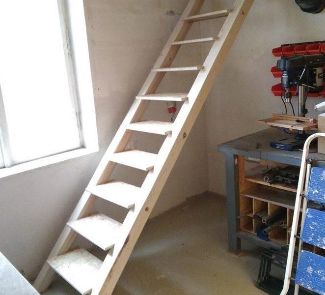 Bau einer Treppe im Werx